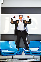 Tony Zingale pictures: Executive portrait photography of Tony Zingale of Jive Software by San Francisco corporate photographer Eric Millette