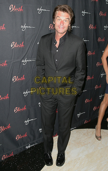 HARRY HAMLIN.Lisa Rinna and Harry Hamlin celebrate their anniversary at Blush Nightclub inside the Wynn Resort Hotel and Casino, Las Vegas, Nevada, USA..May 9th, 2009.full length black suit .CAP/ADM/MJT.© MJT/AdMedia/Capital Pictures.
