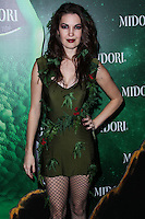 WEST HOLLYWOOD, CA - OCTOBER 29: Breann Johnson at 3rd Annual Midori Green Halloween Party held at Bootsy Bellows on October 29, 2013 in West Hollywood, California. (Photo by Xavier Collin/Celebrity Monitor)