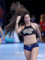 23rd Men's Handball World Championship cheerleader.January 14,2013. (ALTERPHOTOS/Acero) /NortePhoto