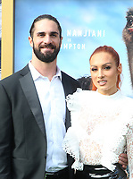 11 January 2020 - Westwood, California - Seth Rollins and Becky Lynch. the premiere of Universal Pictures' Dolittle held at the Regency Village Theatre. Photo Credit: FS/AdMedia