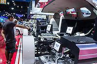 São Paulo, SP - 03.11.2014 - SALÃO INTERNACIONAL DO AUTOMÓVEL -  Mitsubishi Concept GC PHEV híbrido em exposição no 28 Salão Internacional do Automóvel no Centro de Exposições do Anhembi em São Paulo na tarde desta segunda - feira, 03. (Foto: Renato Mendes/Brazil Photo Press)
