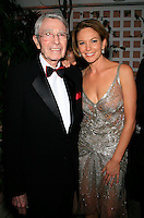 Beverly Hills, California - September 7, 2006.Army Archerd and Diane Lane at the Afterparty for the Los Angeles Premiere of Hollywoodland at the Beverly Hills Hotel..Photo by Nina Prommer/Milestone Photo