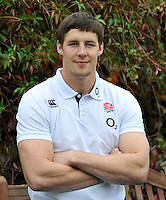 Bagshot, England. Joel Tomkins of England during the England training session held at Pennyhill Park on October 31, 2013 in Bagshot, England.