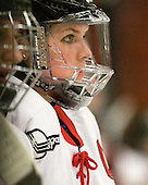 Annie Hogan (NU - 3) - The Northeastern University Huskies defeated the Boston University Terriers in a shootout after being tied at 4 following overtime in their Beanpot semi-final game on Tuesday, February 2, 2010 at the Bright Hockey Center in Cambridge, Massachusetts.
