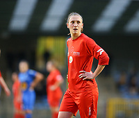 20191221 - WOLUWE: Woluwe's Clotilde Codden is pictured during the Belgian Women's National Division 1 match between FC Femina WS Woluwe A and KAA Gent B on 21st December 2019 at State Fallon, Woluwe, Belgium. PHOTO: SPORTPIX.BE | SEVIL OKTEM