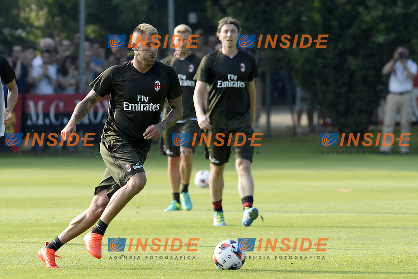 Carnago (Va) 07/07/2015 - 2016/2017 Calcio raduno A.C. Milan Football pre season training  / foto Daniele Buffa/Image Sport/Insidefoto<br /> <br /> <br /> nella foto: Jeremy Menez