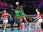 29/10/17 Fast5 2017<br /> Fast 5 Netball World Series<br /> Hisense Arena Melbourne<br /> Grand Final Jamaica v England<br /> <br /> Malysha Kelly<br /> <br /> <br /> <br /> <br /> Photo: Grant Treeby