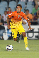 15.09.2012 SPAIN -  La Liga 12/13 Matchday 4th  match played between Getafe C.F. vs F.C. Barcelona (1-4) at Alfonso Perez stadium. The picture show Thiago Alcantara do Nascimiento (Italian Midfielder of Barcelona)
