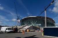 The South stand at the Tottenham Hotspur Stadium work in progress at  High Road (White Hart Lane), London, England on 18 October 2018. Photo by Vince  Mignott.