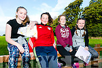 At the Kerry ETB orienteering event in Ballyseedy Wood on Tuesday were Moira O Mahony, Jessica O'Neill, Caoimhe Cournane, Chloe Goggin from Colaiste na Sceilge