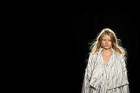 PORTO, PORTUGAL, 23.10.2014 - FASHION WEEK PORTUGAL - modelo desfila para  Spring / Summer 2015  criação do designer Português Susana Bettencourt | Estelita Mendonça durante a edição 35rd de Portugal Fashion Week, no Palácio dos CTT no Porto, Portugal, em 23 de outubro de 2014 (Foto: Pedro Lopes/ Brazil Photo Press).