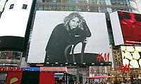 SEP 17 USA: Lauren Hutton in the H&M Autumn Fashion campaign