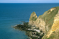 - Normandy, sites of allied landing of June 1944, Point di Hoc....- Normandia, i luoghi degli sbarchi alleati del giugno 1944, la point du Hoc