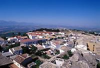 COMARCA DE BAZA-ESPAÑA-25-05-2005. Panorámica de Baza, España. Baza´s panoramic. (Photo: VizzorImage)....