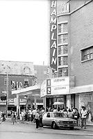 - Cinema Champlain on Sainte-Catherine Est near Papineau