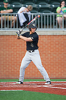 Stuart Fairchild (4) of the Wake Forest Demon Deacons at bat against the Charlotte 49ers at Hayes Stadium on March 16, 2016 in Charlotte, North Carolina.  The 49ers defeated the Demon Deacons 7-6.  (Brian Westerholt/Four Seam Images)
