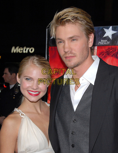 KENZIE DALTON & CHAD MICHAEL MURRAY .The Home of The Brave Premiere held at The Academy in Beverly Hills, California, USA..December 5th, 2006.headshot portrait couple red lipstick.CAP/DVS.©Debbie VanStory/Capital Pictures
