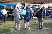 Simon Harmer of Essex pulls the winner of the Upminster 200 club during Upminster CC vs Essex CCC, Benefit Match Cricket at Upminster Park on 8th September 2019