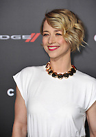 Karine Vanasse at the Los Angeles premiere of &quot;Focus&quot; at the TCL Chinese Theatre, Hollywood.<br /> February 24, 2015  Los Angeles, CA<br /> Picture: Paul Smith / Featureflash