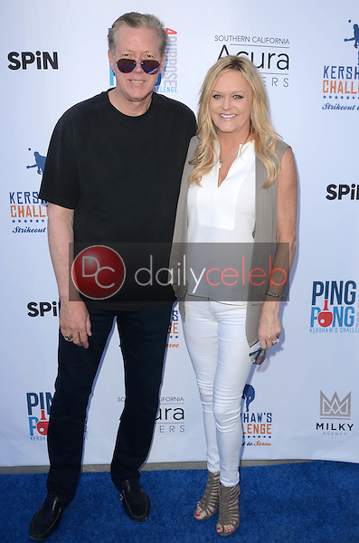 Orel Hershiser, Daba Hershiser<br /> at Clayton Kershaw's Ping Pong 4 Purpose Celebrity Tournament to Benefit Kershaw's Challenge, Dodger Stadium, Los Angeles, CA 08-11-16<br /> David Edwards/DailyCeleb.com 818-249-4998