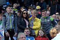 17-1-2017: Barry, Grace, Siobhan and Peadar Keane Killorglin at the All-Ireland Football final at Croke Park on Sunday.<br /> Photo: Don MacMonagle