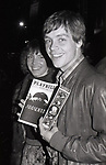 Mark Hamill and wife Marilou York take in a performance of 'Amadeus' at the Broadhurst Theatre  on June 1, 1980 in New York City.