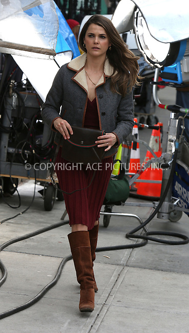 WWW.ACEPIXS.COM....March 28 2013, New York City......Actress Keri Russell was on the set of the TV show 'The Americans' on March 28 2013 in New York City......By Line: Philip Vaughan/ACE Pictures....ACE Pictures, Inc...tel: 646 769 0430..Email: info@acepixs.com..www.acepixs.com