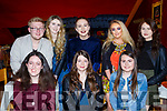 Hannah McSweeney of Tralee, seated centre, celebrating her 19th birthday with friends in Restaurant Uno on Saturday night last. Seated l-r, Megan Kennedy, Hannah McSweeney and Michaela Barrett.<br /> Standing l-r, Danny Moriarty, Jade Falvey, Mary Ann O&rsquo;Sullivan, Aoife Sheehy and Claire Casey.