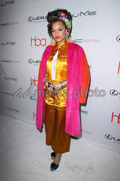 19 February 2017 - Hollywood, California - Andra Day. 3rd Annual Hollywood Beauty Awards held at Avalon Hollywood. Photo Credit: AdMedia