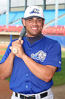 West Michigan Whitecaps Rafael Mendez poses for a photo before a Midwest League game at Memorial Stadium on July 14, 2006 in Fort Wayne, Indiana.  (Mike Janes/Four Seam Images)