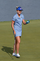 Lexi Thompson (USA) sinks her eagle putt on 7 during round 4 of the 2018 KPMG Women's PGA Championship, Kemper Lakes Golf Club, at Kildeer, Illinois, USA. 7/1/2018.<br /> Picture: Golffile | Ken Murray<br /> <br /> All photo usage must carry mandatory copyright credit (&copy; Golffile | Ken Murray)