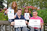 The Youth Work Ireland Volunteer Achievement Awards Winners for 2011 have been announced and two of the five winners Gearoid Murphy (KDYS Killarney Volunteer) and Peter Murphy KDYS Tralee Volunteer  are from Kerry. PIctured back l-r were: Bev Kirwan KDYS Community Youth Worker, Kathleen Higgins KDYS Community Youth Work Co-Ordinator.