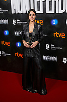 Megan Montaner attends to La Caza. Monteperdido premiere at Capitol cinema in Madrid, Spain. March 12, 2019. (ALTERPHOTOS/A. Perez Meca)