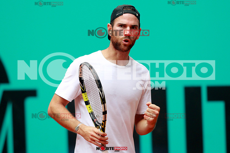 Adrian Mannarino, France, during Madrid Open Tennis 2018 match. May 7, 2018.(ALTERPHOTOS/Acero) /NortePhoto.com