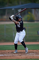 AZL White Sox Anthony Coronado (26) at bat during an Arizona League game against the AZL Padres 2 on June 29, 2019 at Camelback Ranch in Glendale, Arizona. The AZL Padres 2 defeated the AZL White Sox 7-3. (Zachary Lucy/Four Seam Images)