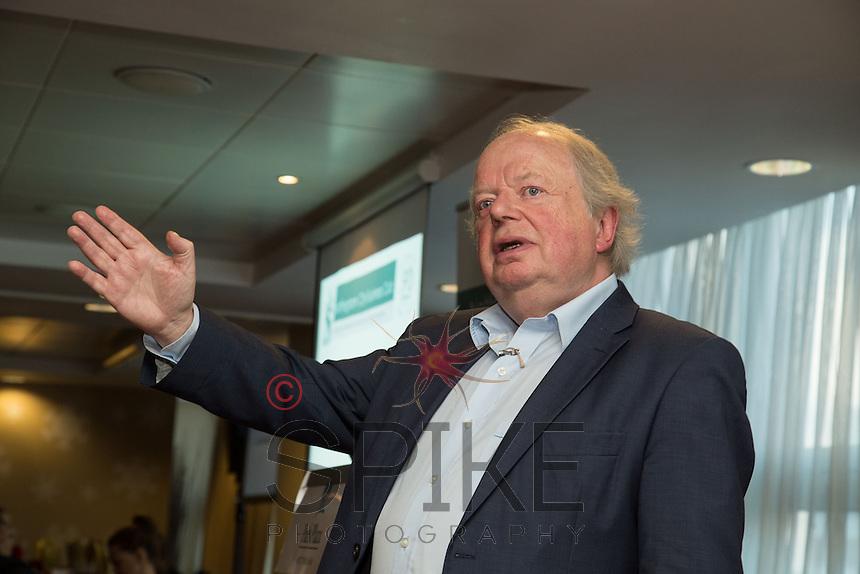 Keynote speaker John Sergeant at the Nottingham City Business Club Christmas Lunch