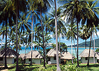 Thailand, island Ko Samui, Lamai Beach - bungalows