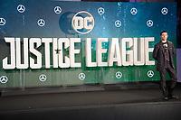 Ezra Miller<br /> at the &quot;Justice League&quot; photocall,  London<br /> <br /> <br /> &copy;Ash Knotek  D3345  04/11/2017
