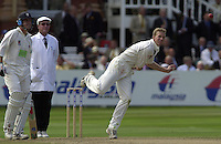 Photo Peter Spurrier.31/08/2002.Cheltenham & Gloucester Trophy Final - Lords.Somerset C.C vs YorkshireC.C..Somerset batting Peter Bowler bowling Richard Dawson