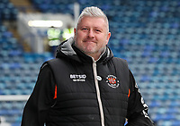 Blackpool's manager Terry McPhillips arriving at the stadium <br /> <br /> Photographer Andrew Kearns/CameraSport<br /> <br /> The EFL Sky Bet League One - Portsmouth v Blackpool - Saturday 12th January 2019 - Fratton Park - Portsmouth<br /> <br /> World Copyright © 2019 CameraSport. All rights reserved. 43 Linden Ave. Countesthorpe. Leicester. England. LE8 5PG - Tel: +44 (0) 116 277 4147 - admin@camerasport.com - www.camerasport.com