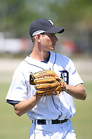 March 21st 2008:  Kyle Peter of the Detroit Tigers minor league system during Spring Training at Tiger Town in Lakeland, FL.  Photo by:  Mike Janes/Four Seam Images