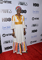 LOS ANGELES, CA- FEB. 08: Mame Mbaye at the 2018 Pan African Film & Arts Festival at the Cinemark Baldwin Hills 15 in Los Angeles, California on Feburary 8, 2018 Credit: Koi Sojer/ Snap'N U Photos / Media Punch