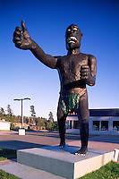 Giant Sasquatch Statue Roadside Attraction, along Trans Canada Highway (Hwy 17), Vermillion Bay, ON, Ontario, Canada