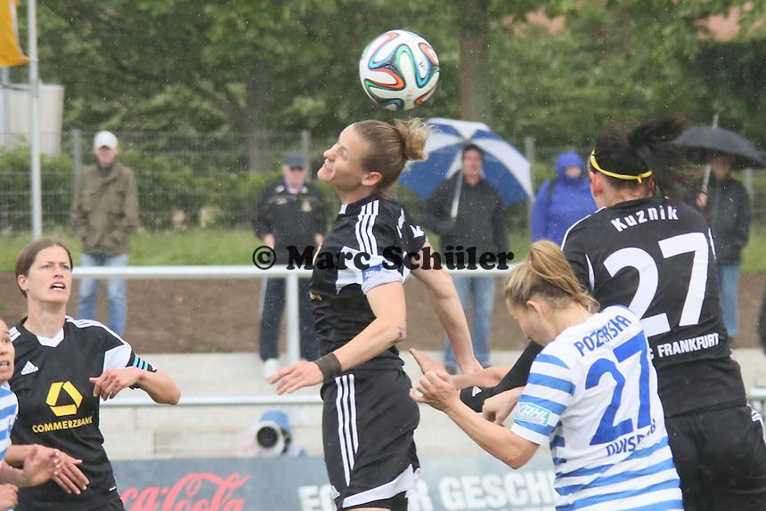 Kopfball Simone Laudehr (FFC) - 1. FFC Frankfurt vs. MSV Duisburg