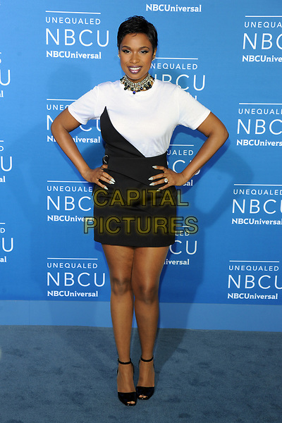 NEW YORK, NY - MAY 15: Jennifer Hudson at the NBC Universal 2017 Upfront Presentation in New York City on May 15, 2017. <br /> CAP/MPI/PAL<br /> &copy;PAL/MPI/Capital Pictures