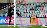 Lincoln City's Sam Long during the pre-match warm-up<br /> <br /> Photographer Chris Vaughan/CameraSport<br /> <br /> The EFL Sky Bet League One - Saturday 12th September 2020 - Lincoln City v Oxford United - LNER Stadium - Lincoln<br /> <br /> World Copyright © 2020 CameraSport. All rights reserved. 43 Linden Ave. Countesthorpe. Leicester. England. LE8 5PG - Tel: +44 (0) 116 277 4147 - admin@camerasport.com - www.camerasport.com - Lincoln City v Oxford United
