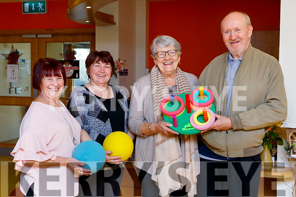 Baile Mhuire Day Care Center celebrate in receiving funding from Go Funding. L-r, Mary Carmody, Denise Leahy, Carmel Doona and Tim Sullivan.
