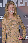 """ROSAMUND PIKE.attends the 'Jack Reacher' premiere at the Callao Cinema, Madrid_13/12/2012.Mandatory Credit Photo: ©NEWSPIX INTERNATIONAL..**ALL FEES PAYABLE TO: """"NEWSPIX INTERNATIONAL""""**..IMMEDIATE CONFIRMATION OF USAGE REQUIRED:.Newspix International, 31 Chinnery Hill, Bishop's Stortford, ENGLAND CM23 3PS.Tel:+441279 324672  ; Fax: +441279656877.Mobile:  07775681153.e-mail: info@newspixinternational.co.uk"""