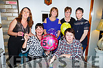 Maura Whelan from Listowel celebrating her 50th birthday in Bella Bia on Friday night. Seated l to r: Maura Whelan and Carol Dooley.<br /> Back l to r: Eileen Whelan, Helena Foran, Mary Griffin and Patricia O&rsquo;Driscoll.
